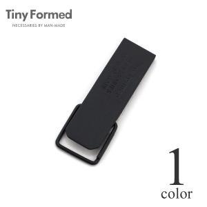タイニーフォームド Tiny Formed タイニー メタル キー クリップ Tiny metal key clip TM-01BK ブラック 真鍮 キーリング キーホルダー メール便可能|lea-rare