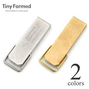 タイニーフォームド Tiny Formed タイニー メタル キー クリップ Tiny metal key clip TM-01S TM-01B シルバー ブラス 真鍮 キーリング メール便可能|lea-rare