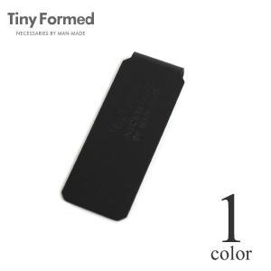 タイニーフォームド Tiny Formed タイニー メタル マネークリップ Tiny metal money clip TM-07BK ブラック 真鍮 メール便可能|lea-rare