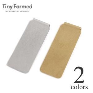 タイニーフォームド Tiny Formed タイニー メタル マネークリップ Tiny metal money clip TM-07S TM-07B シルバー ブラス 真鍮 メール便可能|lea-rare