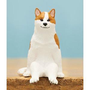 【ブチ】座る犬 lead-netstore