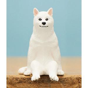 【シロ】座る犬 lead-netstore