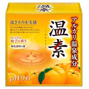 目玉特価 LC60 アース製薬 温素 入浴剤 柚子の香り 15包入り lead