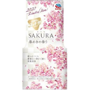 LE25 アース製薬 お部屋のスッキーリ Sukki-ri 消臭芳香剤 SAKURA 春めきの香り 400ml lead
