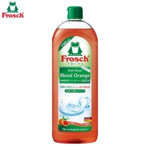 Y670 旭化成 フロッシュ 食器用洗剤 ブラッドオレンジ つめかえ用 750mL ノンアルコール|lead