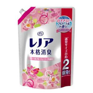 目玉特価 X686 P&G レノア 本格消臭 フローラルフルーティーソープの香り つめかえ用 特大サイズ 910ml 柔軟剤 通常の2個分|lead