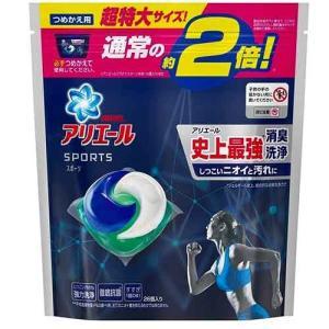 AQ77 P&G アリエール 洗濯洗剤 ジェルボール3D プラチナスポーツ 詰め替え 超特大 26コ入|lead