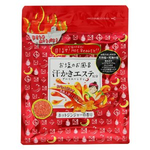 Z523 マックス お塩のお風呂 汗かきエステ気分 ホットジンジャーの香り 入浴剤 500g