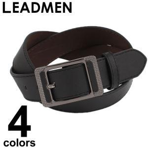 ベルト メンズ  フェイクレザー シンプル メンズファッションカジュアル 通販 メンズベルト カジュアル メンズファッション 通販|leadmen