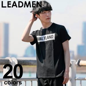 メンズ半袖Tシャツ 2019年リニューアルバージョン入荷!  シンプルなロゴプリントがコーディネート...