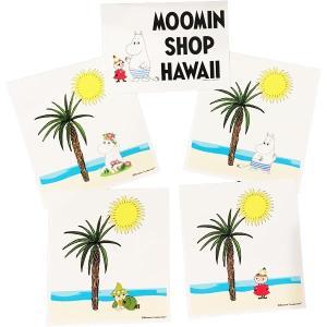 Moomin Shop Hawaii 正規品オフィシャル ムーミンショップ ハワイ hawii ハワイ ハワイ限定 ムーミン ステッカー