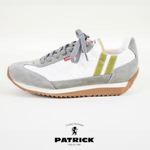 パトリック PATRICK MARATHON ARCRY アーチェリー マラソン ライン入り スニーカー 靴 レディース メンズ ユニセックス|leap-town