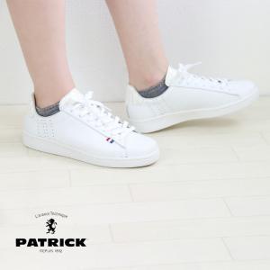 パトリック PATRICK  QUEBEC-E.C ケベック×エナメル/クロコ WHT 白 スニーカー レディース メンズ ユニセックス クーポン利用不可|leap-town