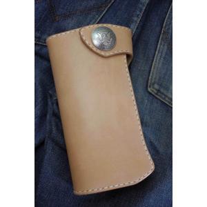 ヌメ革ロングウォレット fb0152s|leather-teddys