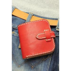 ヌメ革ビルフォード 二つ折り財布 rm237|leather-teddys