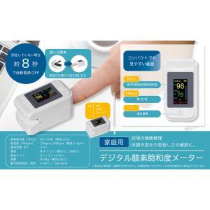 当日発送 デジタル酸素飽和度メーター 酸素濃度計 血中酸素濃度計 心拍計 脈拍 軽量 非医療用 RS-E1440|leather-z