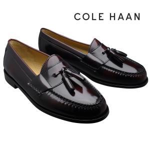 c9092c83806 コールハーン 靴 Cole Haan 3507 ピンチタッセル ローファー バーガンディー メンズ 革靴 紳士靴