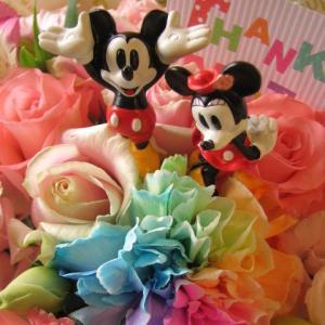 ディズニー 花 フラワーギフト ミッキー&ミニーが可愛いっフ...