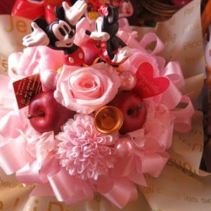 クリスマスプレゼント 花 ディズニー 花 ミッキーマウス ミ...