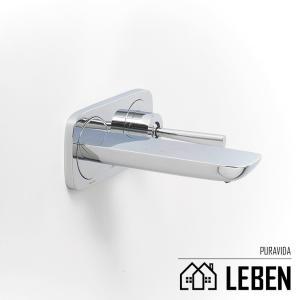 Hansgrohe ハンスグローエ PURAVIDA プラビダ シングルレバー壁付式洗面混合水栓 [15084000]|leben
