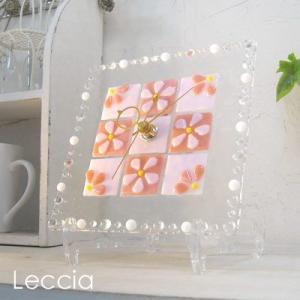 ガラス製インテリア掛け置き時計 Felice-001|leccia