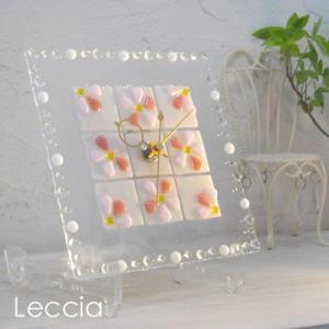 ガラス製インテリア掛け置き時計 Felice-002|leccia