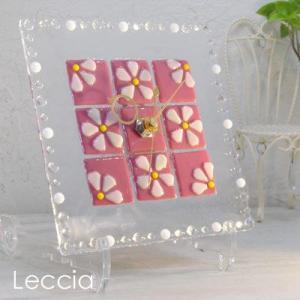 ガラス製インテリア掛け置き時計 Felice-003|leccia