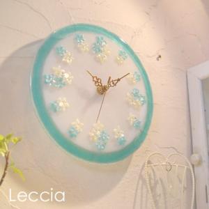 ガラス製インテリア掛け置き時計 Gita-003|leccia