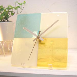 ガラス製インテリア掛け置き時計 Sentendo-032|leccia