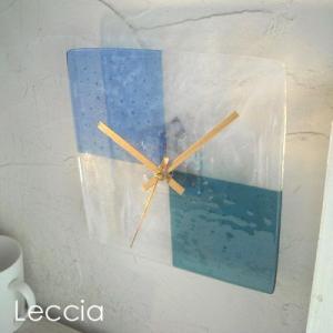 ガラス製インテリア掛け置き時計 Sentendo-037|leccia