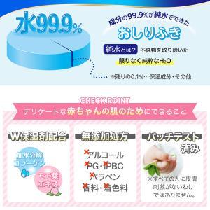 おしりふき 水99.9% 流せるタイプ 60枚×15個 (送料無料)|lecdirect|03