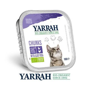 ヤラー(YARRAH)チキンとターキーのキャットチャンク100g