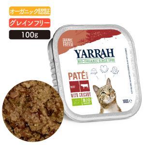 ヤラー(YARRAH)ビーフとチコリのキャットパテ100g lechien-life