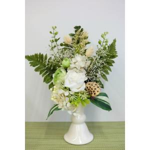 プリザーブドフラワー お供え 仏花 ほまれ|lecocon