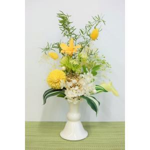 プリザーブドフラワー お供え 仏花 ときわ|lecocon
