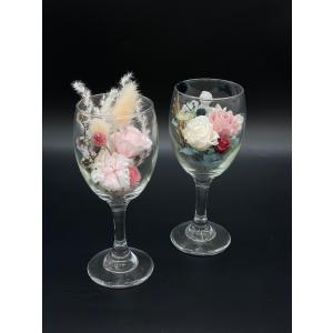 プリザーブドフラワー 開店 開業 お祝い インテリア プリザグラス|lecocon