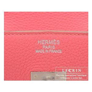 エルメス バーキン35 ローズリップスティック トゴ シルバー金具|lecrin|05