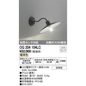 オーデリック  OG254104LC  屋外照明 LED照明 ODELIC