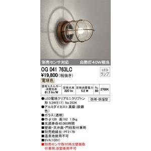 【送料最安値!】オーデリックODELIC エクステリア ポーチライト OG041763LC 電球色|led-fukyuu-iinkai