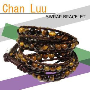 † Chan Luu・チャンルー †  送料無料 5ラップブレス、3バージョン今流行の大人気ブレスレットが特価《5WRAP BRACELET》ペア・プレゼント|led