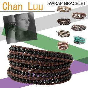 † Chan Luu・チャンルー †  送料無料 5ラップブレス 7カラー 今流行の大人気ブレスレットが特価《5WRAP BRACELET》ペア・プレゼント|led