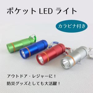 ポケットLEDライト / 懐中電灯 / ミニライト / ハンディライト|led