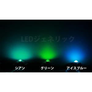 3W シアン色 ハイパワーLED素子 青緑 ペ...の詳細画像1