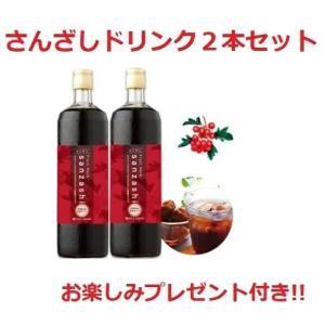 ◆サンザシ/山査子 飲料◆ フルーツハーブ さんざしドリンク 900mL 2本セット