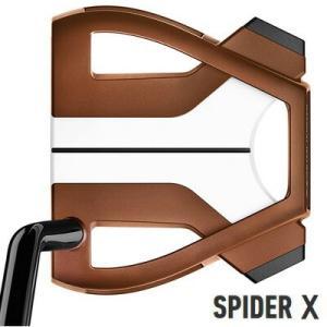 テーラーメイド 2019 スパイダー X カッパー×ホワイト シングルベンド パター