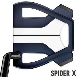 テーラーメイド 2019 スパイダー X ブルー×ホワイト シングルベンド パター