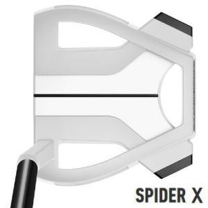 テーラーメイド スパイダー X チョークホワイト CHALKWHITE スモールスラント パター