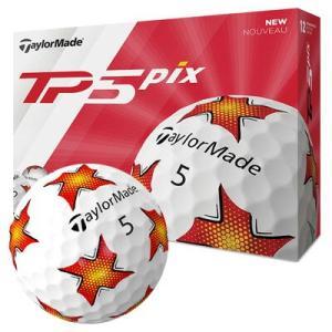 数量限定 テーラーメイド 2019 TP5 ボール PIXデザイン 1ダース leftygolf