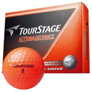 ブリヂストン ツアーステージ エクストラディスタンス ボール オレンジ 1ダース