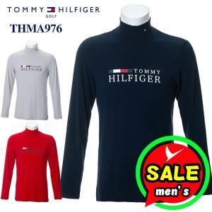 トミーヒルフィガー 長袖ハイネックシャツ THMA976